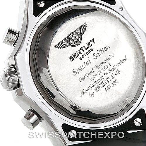 Breitling bentley chronograph gmt mens watch a47362 for Breitling 1884 bentley motors special edition a25362