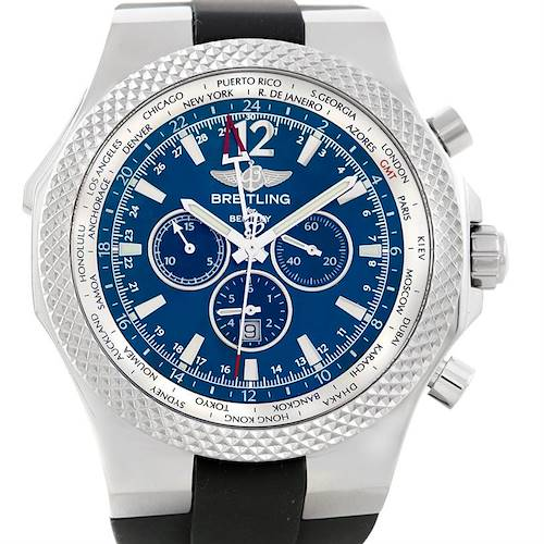 Photo of Breitling Bentley Chronograph GMT Mens Watch A47362