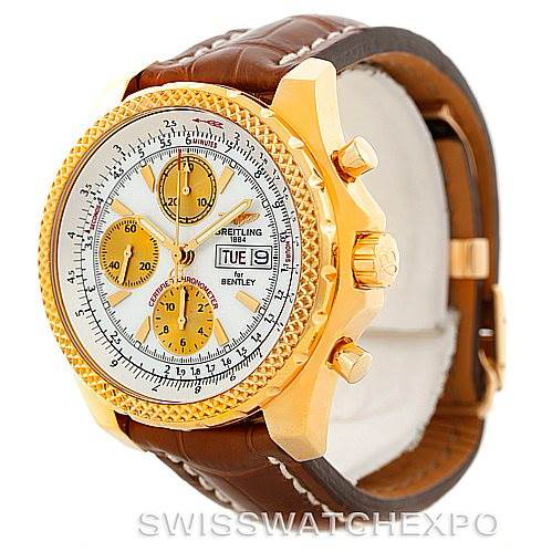 Breitling Bentley Motors GT 18K Yellow Gold Watch K13362 SwissWatchExpo