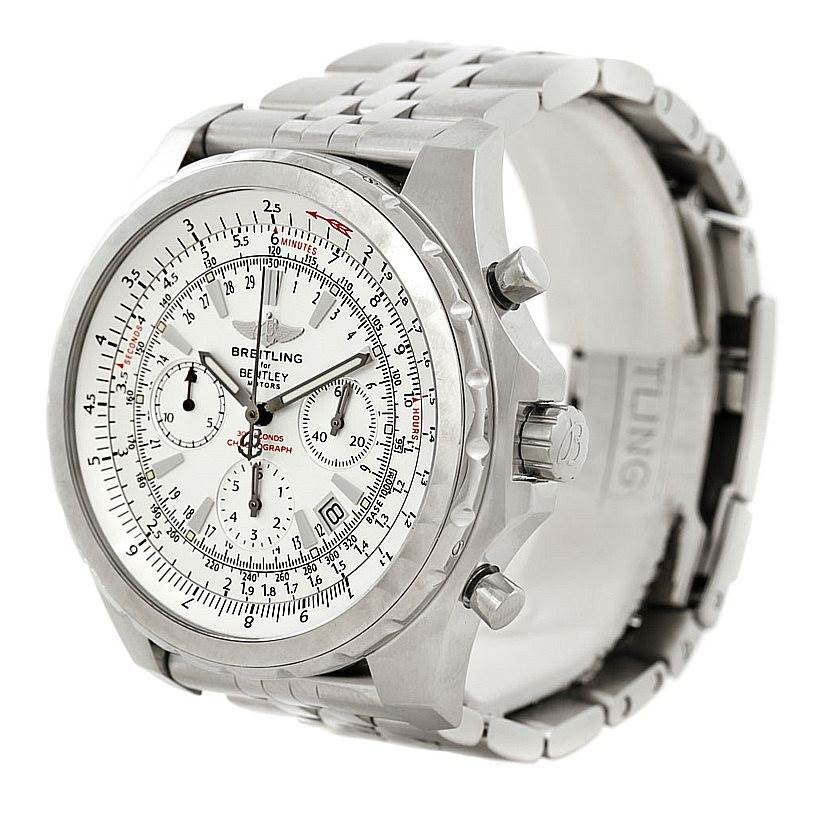Breitling Bentley Motors T Mens Steel Watch A25363