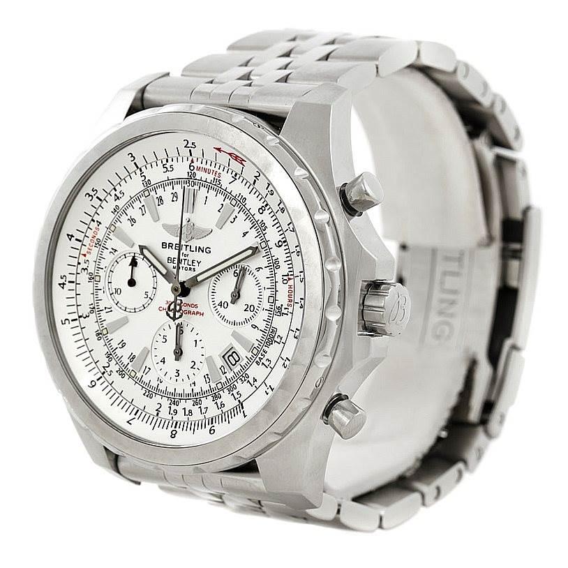 Breitling Bentley Motors T Mens Steel Watch A25363