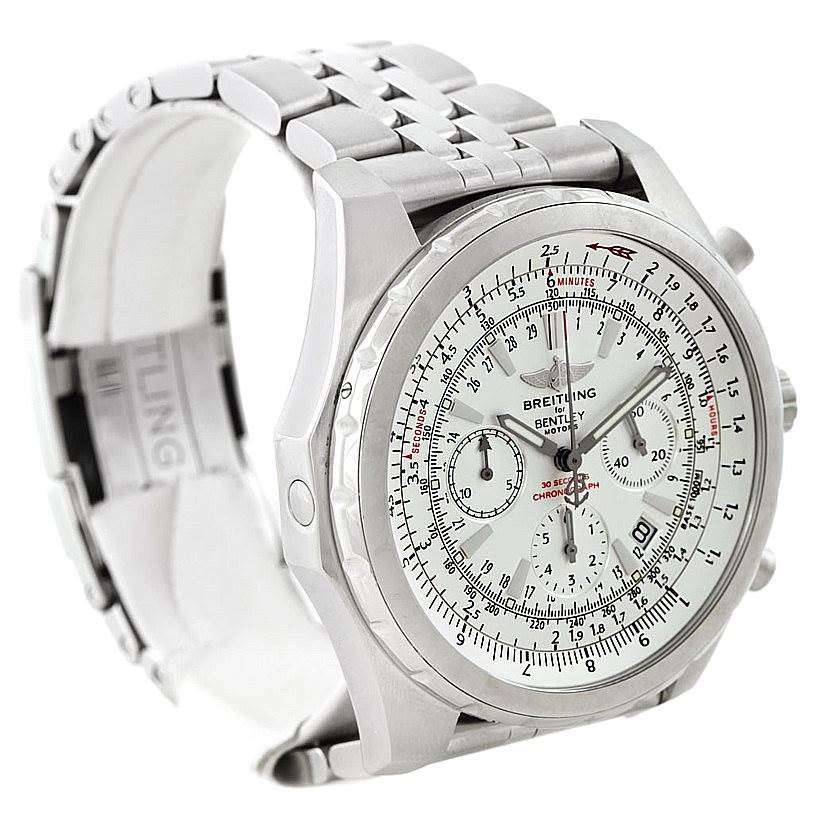 7392 Breitling Bentley Motors T Mens Steel Watch A25363 SwissWatchExpo