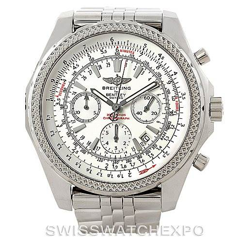 7393 Breitling Bentley Motors Chronograph Mens Watch A25362 SwissWatchExpo