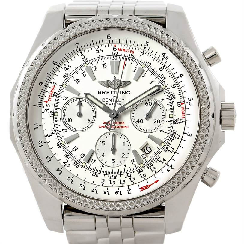 Breitling bentley motors chronograph mens watch a25362 for Breitling watches bentley motors special edition a25362