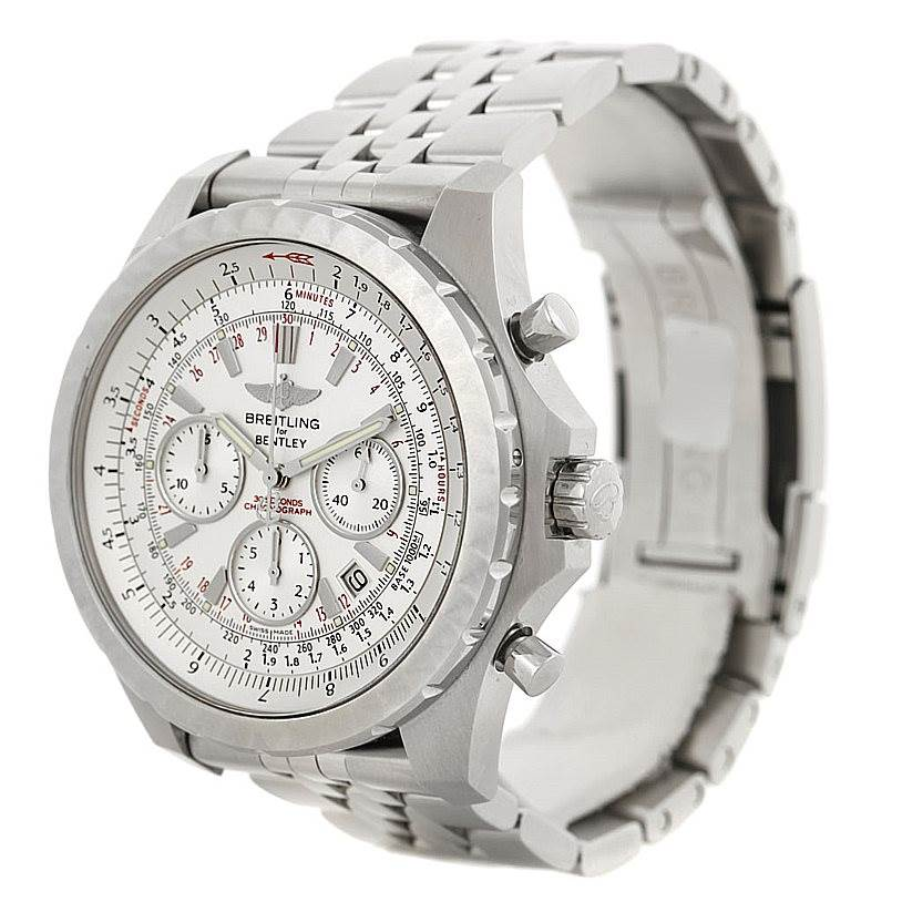 breitling bentley motors t speed chronograph mens watch a25365