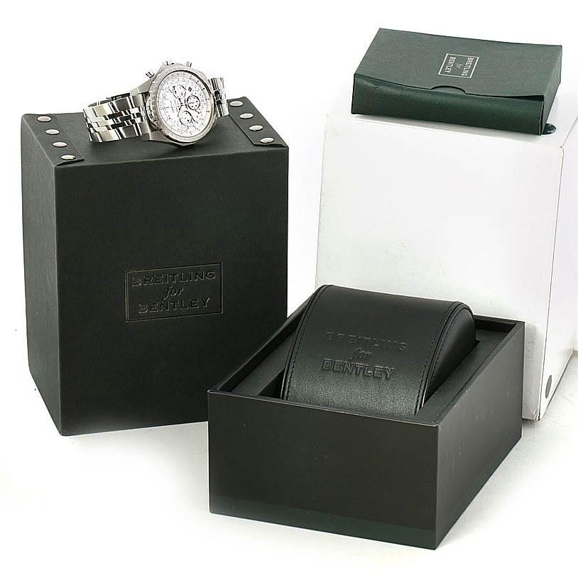 Breitling Bentley Motors T Speed Chronograph Mens Watch A25365 SwissWatchExpo
