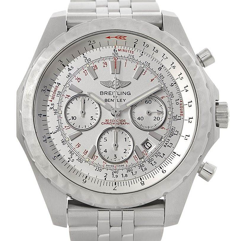 7451 Breitling Bentley Motors T Speed Chronograph Mens Watch A25365 SwissWatchExpo