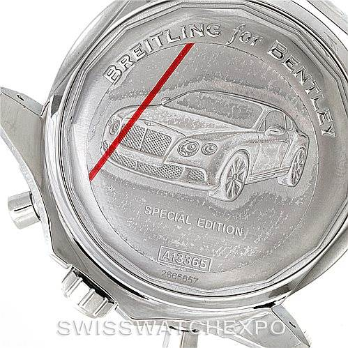 8396 Breitling Bentley Motors GT II Green Special Edition Watch A25363 SwissWatchExpo
