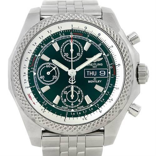 Photo of Breitling Bentley Motors GT II Green Special Edition Watch A25363
