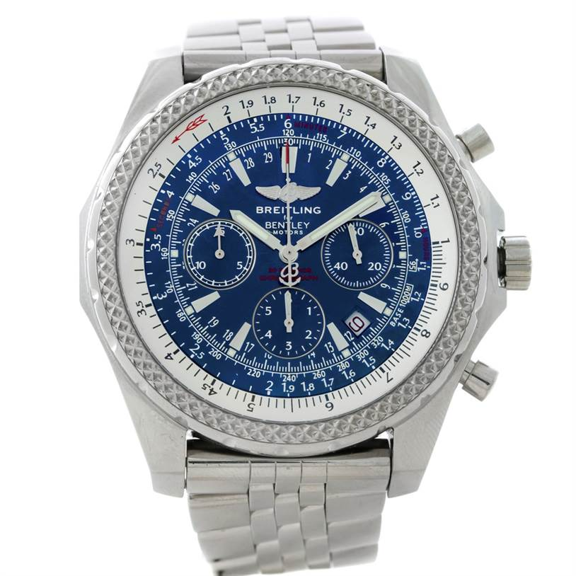 8562 Bentley Motors Chronograph Mens A25362 SwissWatchExpo