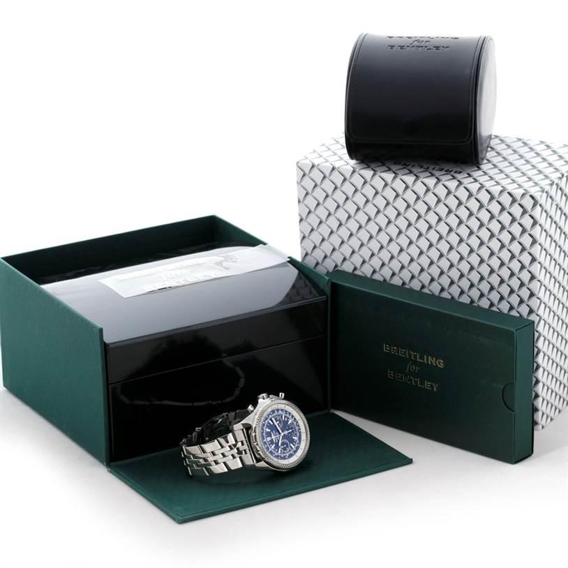 8562 Bentley Motors Chronograph Mens A25362 SwissWatchExpo