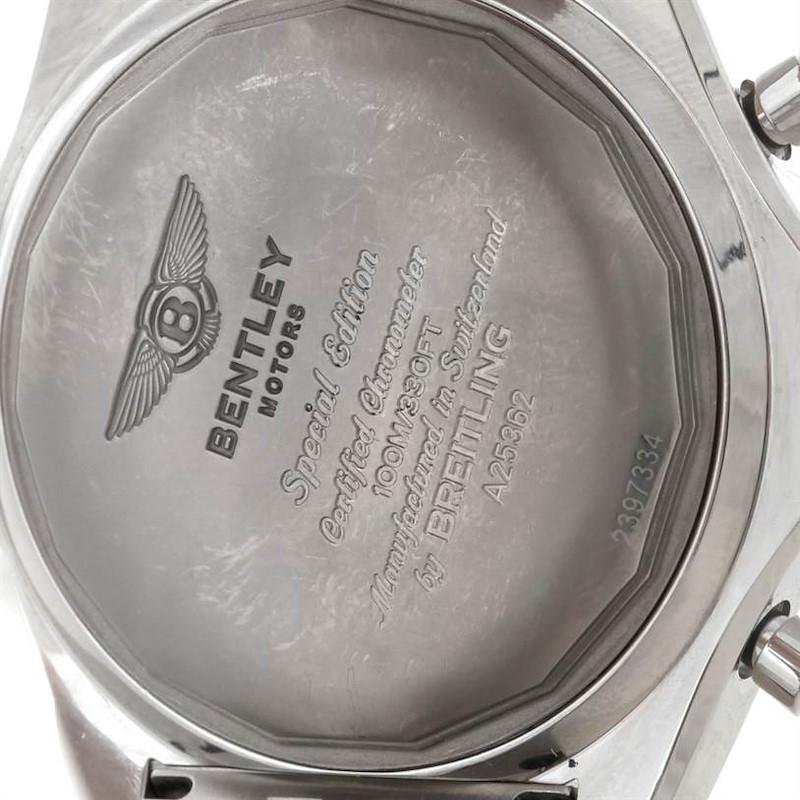 Bentley Motors Chronograph Mens A25362 SwissWatchExpo