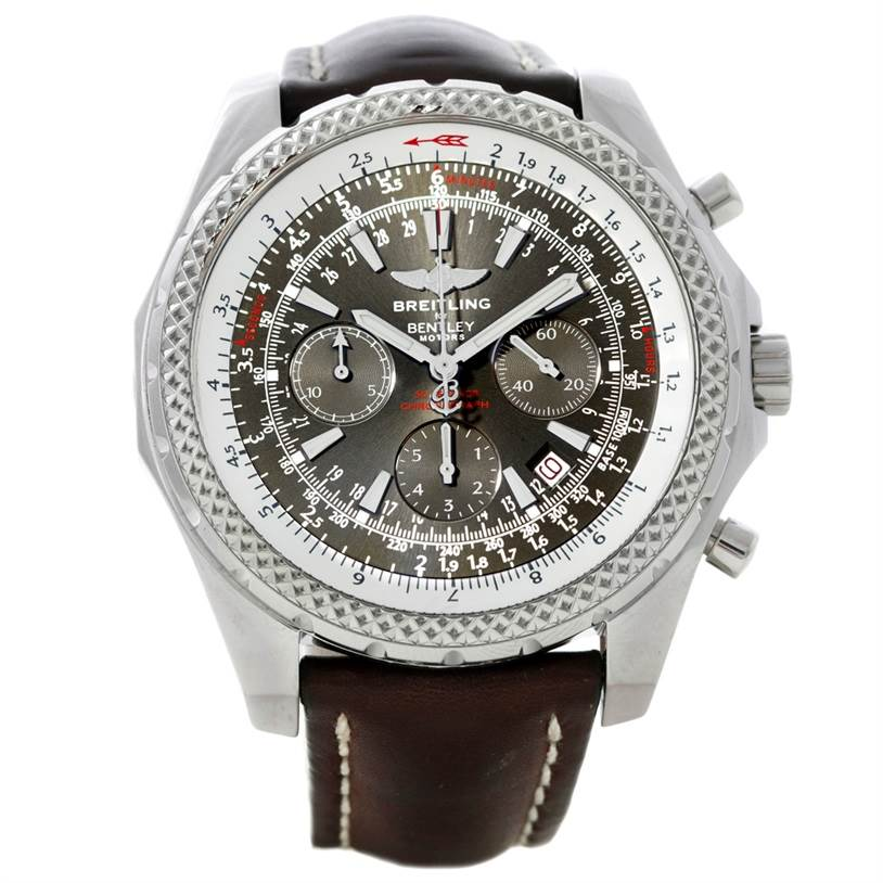 8672 Breitling Bentley Motors Chronograph Mens Watch A25362 SwissWatchExpo