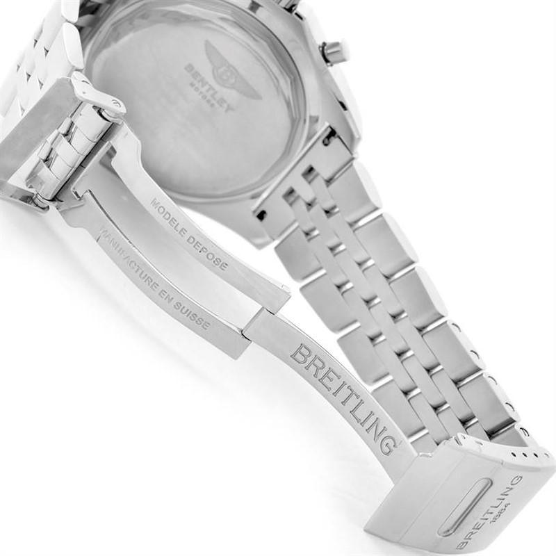 Breitling Bentley Motors Burgundy Dial Chronograph Mens Watch A25362 SwissWatchExpo