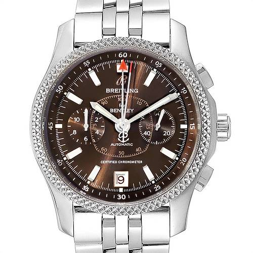 Photo of Breitling Bentley Mark VI Special Edition Platinum Steel Mens Watch P26362