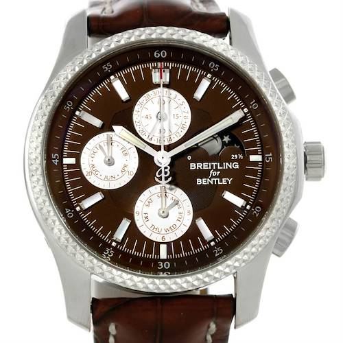 Photo of Breitling Bentley Mark VI Complications Steel Platinum Watch P19362