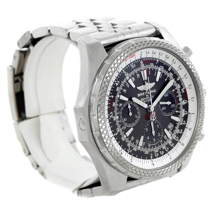 Breitling Bentley Motors Chronograph Grey Dial Mens Watch