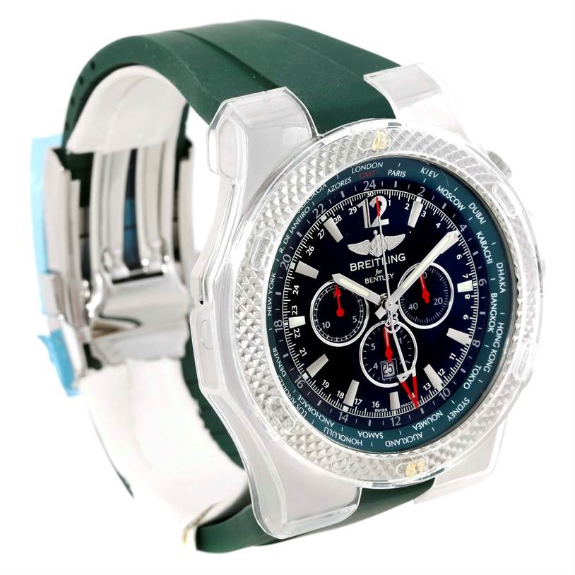 Breitling Bentley Chronograph GMT Limited Edition Watch a4736254/b919 SwissWatchExpo