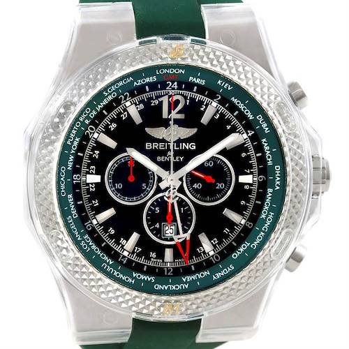 Photo of Breitling Bentley Chronograph GMT Limited Edition Watch a4736254/b919