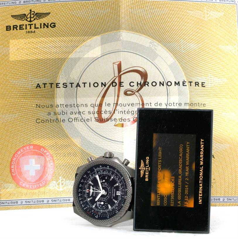 9763 Breitling Bentley Super Sports Watch Limited Edition E2736522/bc63 SwissWatchExpo