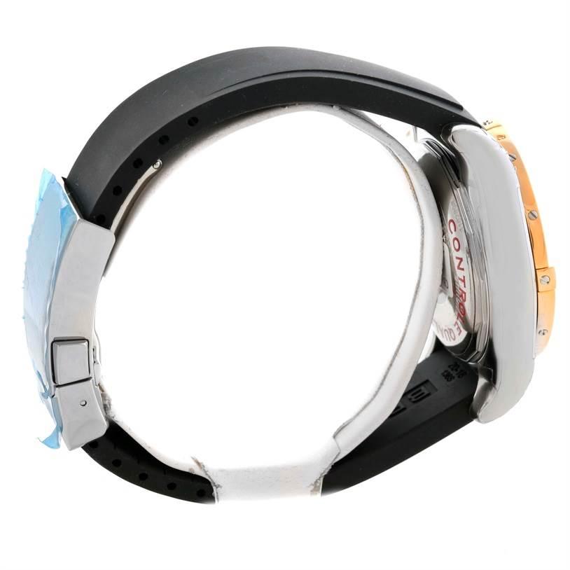 Breitling Chronomat 41 Chrono Steel Rose Gold Watch CB014012 Unworn SwissWatchExpo