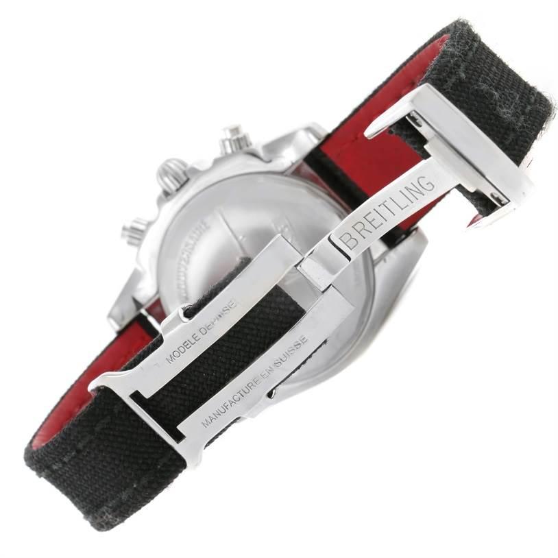 Breitling Chronomat 44 Airborn Anniversary Chronograph Watch AB0115 SwissWatchExpo