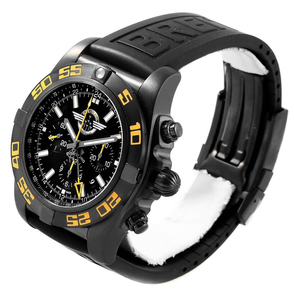 Breitling Chronomat Jet Team American Tour PVD LE Watch MB0410 Unworn SwissWatchExpo