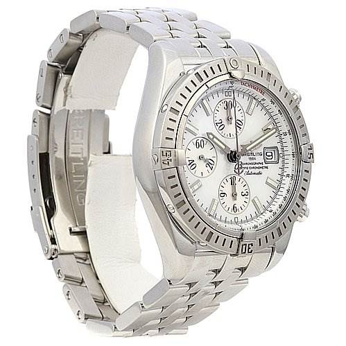 2226 Breitling chronomat Evolution A1335611/a569 Mop Dial Watch SwissWatchExpo