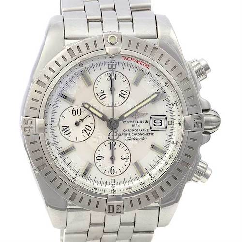 Photo of Breitling chronomat Evolution A1335611/a569 Mop Dial Watch