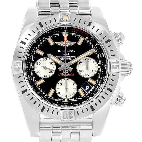 Photo of Breitling Chronomat 41 Airborne Chronograph Steel Watch AB0114