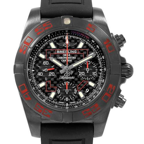 Photo of Breitling Chronomat Blacksteel Carbon Limited Edition Mens Watch MB0141