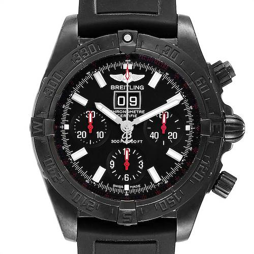 Photo of Breitling Chronomat Blackbird Blacksteel Limited Edition Watch M44359