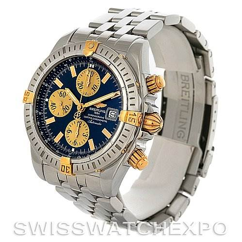 2896 Breitling Chronomat Evolution B1335611 Watch SwissWatchExpo