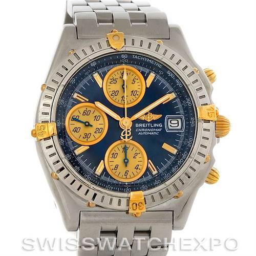 Photo of Breitling Chronomat Steel 18K Gold Watch B13050.1
