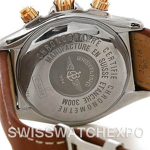 4299 Breitling Chronomat Evolution C13356 Steel and Rose Gold Watch SwissWatchExpo
