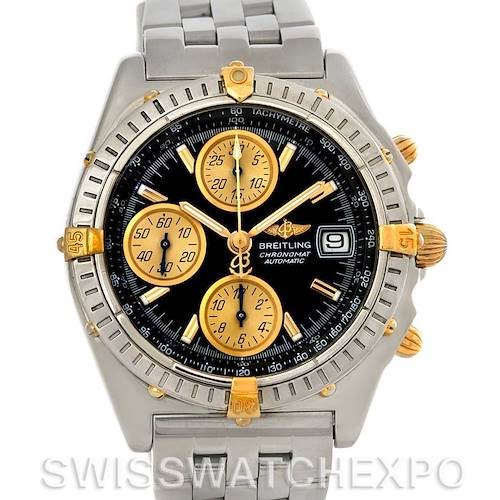 Photo of Breitling Chronomat Steel and 18K Yellow Gold Watch B13050