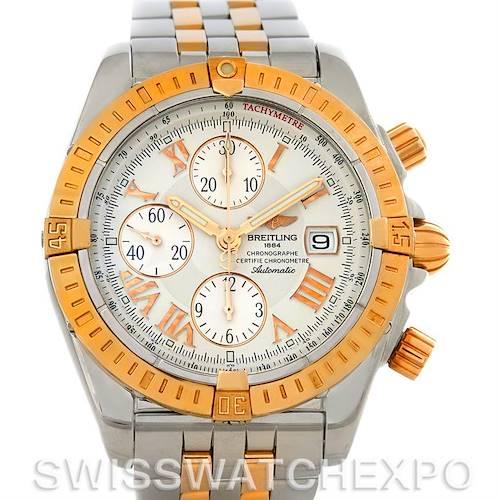 Photo of Breitling Chronomat Evolution C13356 Steel 18K Rose Gold Men's Watch