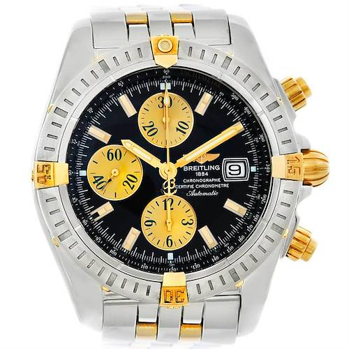 Photo of Breitling Chronomat Steel 18K Gold Watch B13356