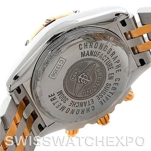 Breitling Chronomat Evolution C13356 Steel 18K Rose Gold Men's Watch SwissWatchExpo