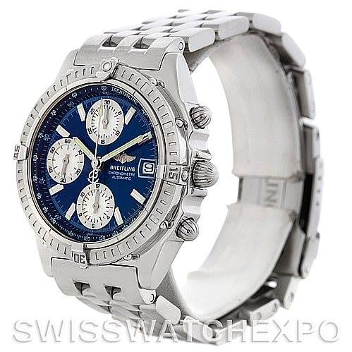 5639 Breitling Chronomat Automatic Steel Men's Watch A13352 SwissWatchExpo