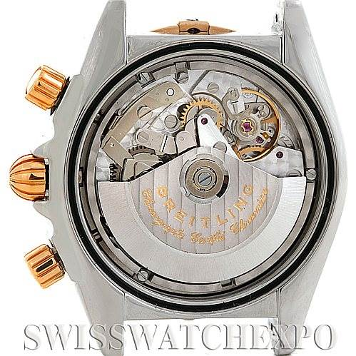 5901 Breitling Chronomat Evolution Steel Rose Gold Watch C1335611/A64 SwissWatchExpo