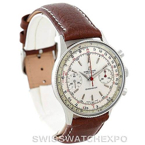 Breitling Vintage Chronomat Steel Watch 217012 808 SwissWatchExpo