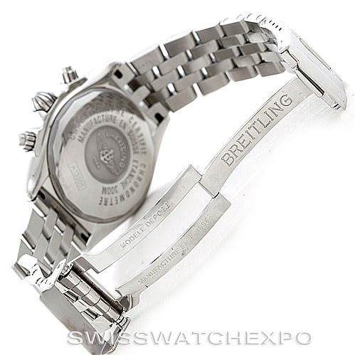 6862 Breitling Chronomat Evolution Steel Mens Watch A13356 SwissWatchExpo