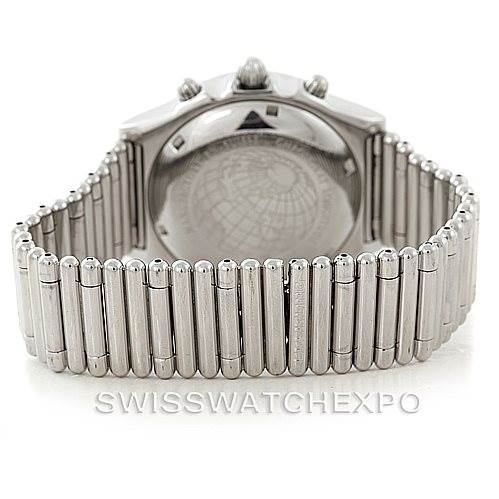 6504 Breitling Chronomat Longitude Steel Men's Watch A20048 SwissWatchExpo