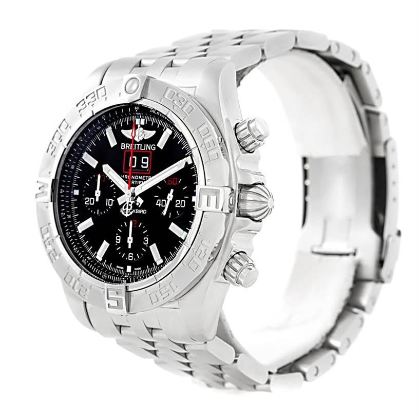 Breitling Chronomat Blackbird Limited Edition Mens Watch A44360 SwissWatchExpo