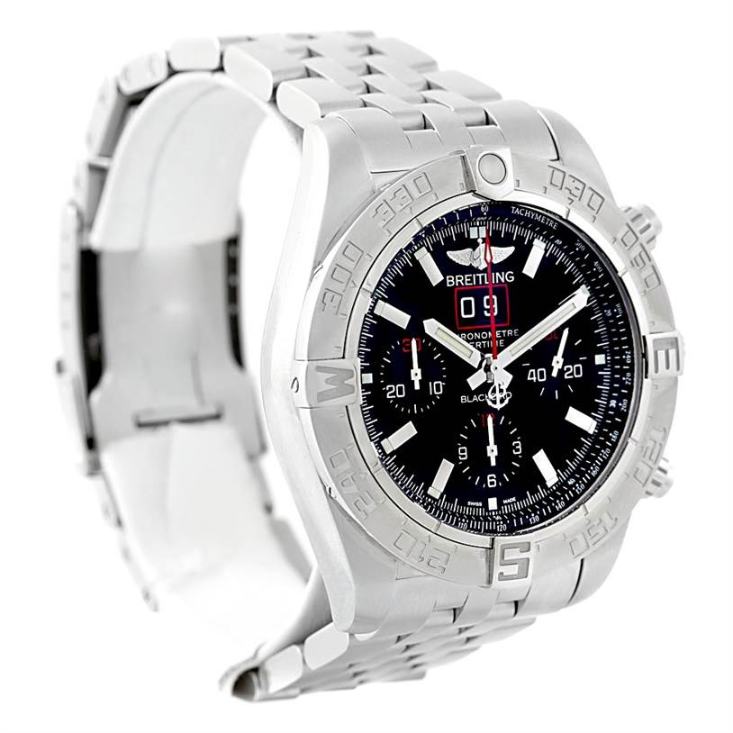 7452 Breitling Chronomat Blackbird Limited Edition Mens Watch A44360 SwissWatchExpo