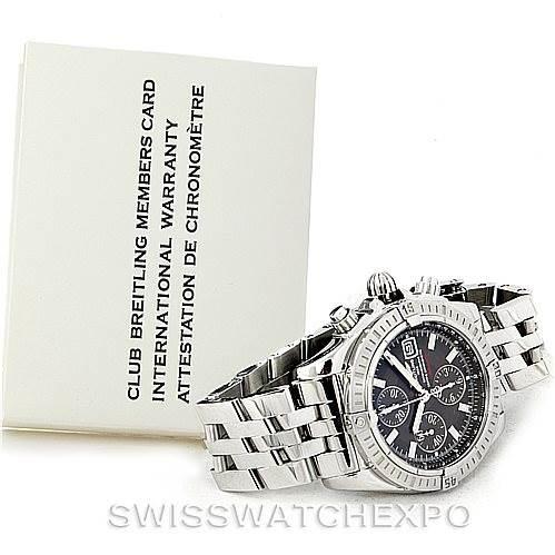 Breitling Chronomat Evolution Steel Mens Watch A13356 Unworn SwissWatchExpo