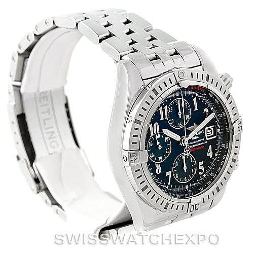 7766 Breitling Chronomat Evolution Limited Edition Watch A13356 Unworn  SwissWatchExpo
