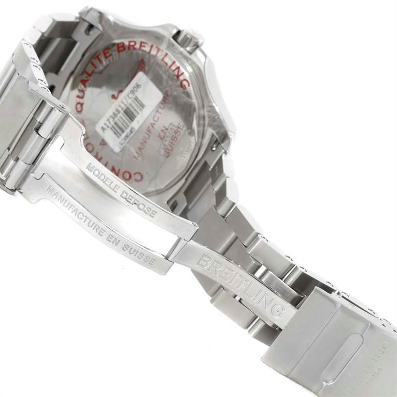 10297 Breitling Colt Automatic Stainless Steel Mens Watch A17388 Unworn SwissWatchExpo