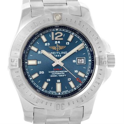 Photo of Breitling Colt Automatic Stainless Steel Mens Watch A17388 Unworn